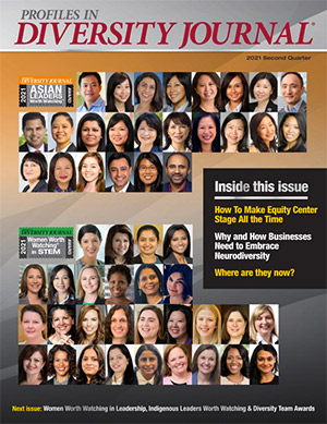 Women Worth Watching in STEM 2021 Issue Cover