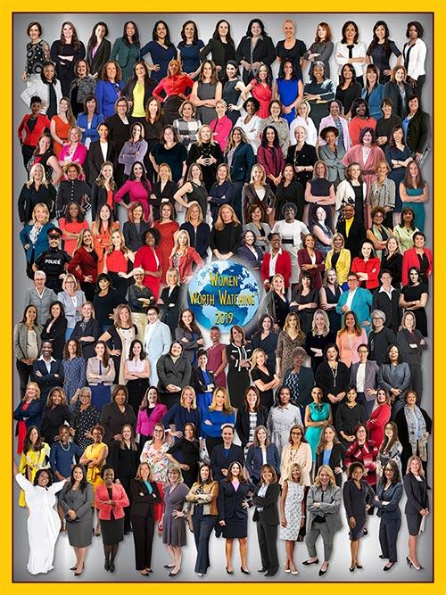 2019 Women Worth Watching Award Winner Poster