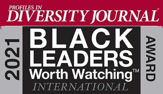 Profiles in Diversity Journal 2021 Black Leaders Worth Watching International Award