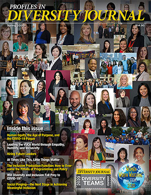 Profiles in Diversity Journal Spring 2020 Issue