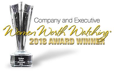 Company and Executive Women Worth Watching 2018 Award Winner