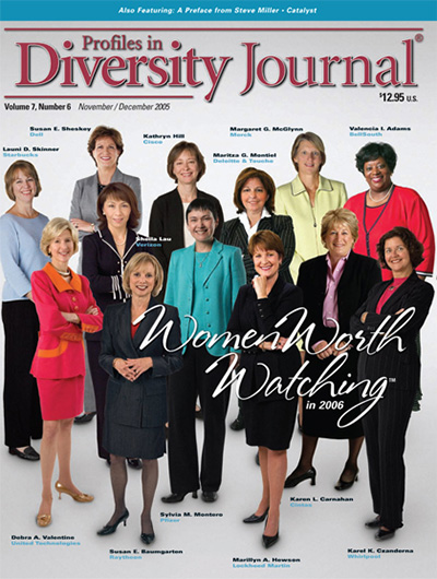 Profiles in Diversity Journal – 2005 Women Worth Watching