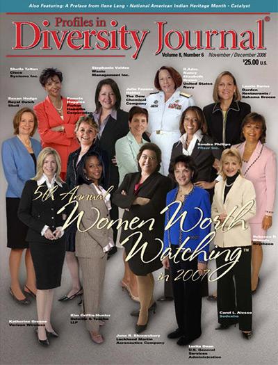 Profiles in Diversity Journal – 2006 Women Worth Watching