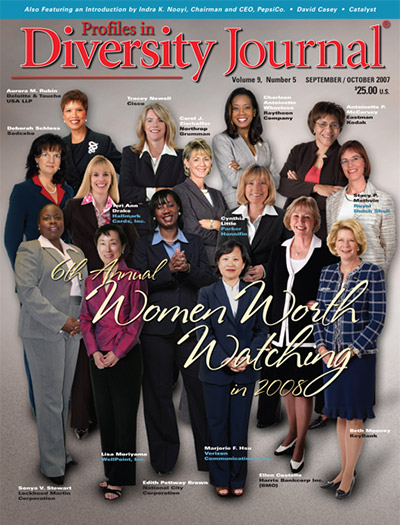 Profiles in Diversity Journal – 2007 Women Worth Watching