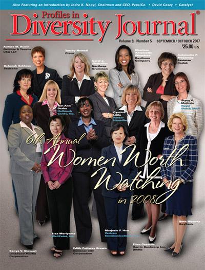 Profiles in Diversity Journal – 2007 Women Worth Watching