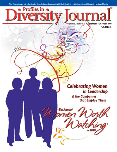 Profiles in Diversity Journal – 2009 Women Worth Watching