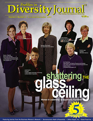 Women Worth Watching 2003 Issue Cover