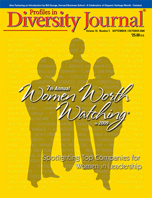 Women Worth Watching 2008 Issue Cover
