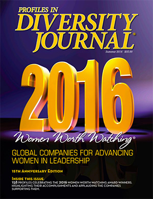 Women Worth Watching 2016 Issue Cover
