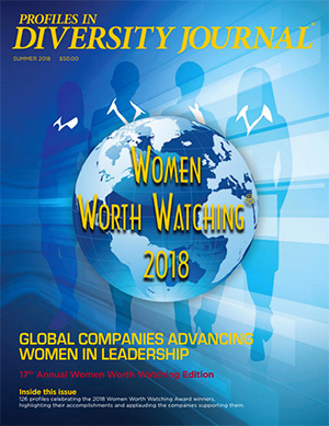 Women Worth Watching 2018 Issue Cover