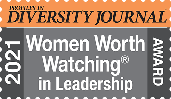Profiles in Diversity Journal 2021 Women Worth Watching In Leadership Award