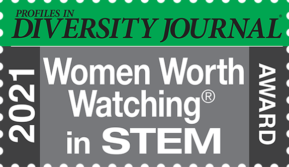 Profiles in Diversity Journal 2021 Women Worth Watching in STEM Award