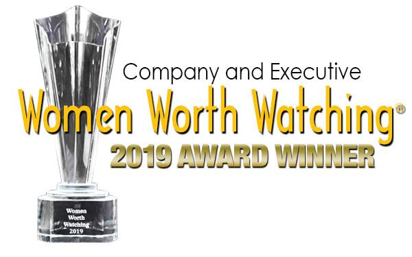 Company and Executive Women Worth Watching 2019 Award Winner